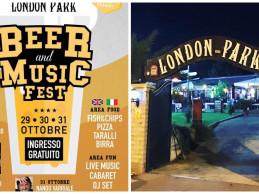 S.Anastasia. «Beer and Music», tre giorni di festa al London Park