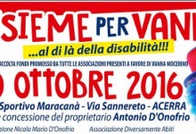 Acerra, artisti in campo per Vanna, la disabile murata in casa
