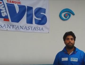 L'Italia a piedi per far conoscere l'Avis, Cileo fa tappa a S.Anastasia VIDEO