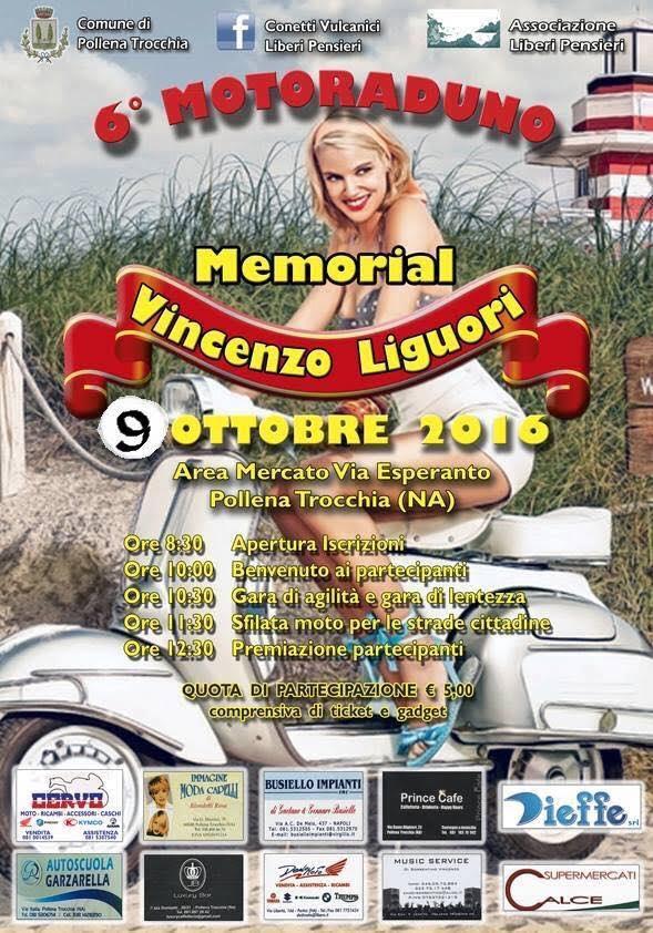 """Domenica 9 ottobre il Memorial """"Vincenzo Liguori"""""""