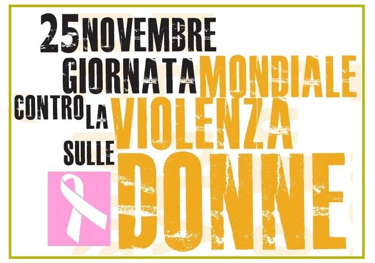 STOP VIOLENCE, domani giornata mondiale contro la violenza di genere