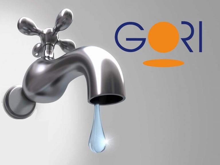 Gori, interruzione idrica nel napoletano: ecco i comuni interessati