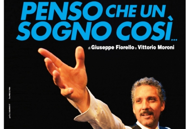 Penso che un sogno così…Fiorello omaggia Modugno all'Augusteo di Napoli