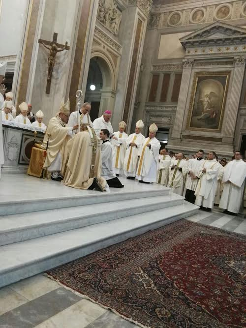 Nola, Mons. Giuseppe Giuliano ordinato vescovo della diocesi di Lucera-Troia