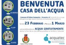 Palma Campania. Le case dell'acqua erogheranno gratis per 7 giorni