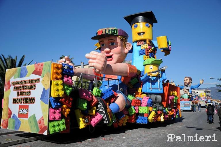 Carnevale Savianese 2017, boom di presenze. 40 mila persone in strada