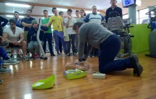 Tecniche di primo soccorso, lezioni al Busen Club Marino