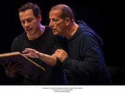 Stefano Accorsi e Marco Baliani al teatro Bellini: Giocando con Orlando