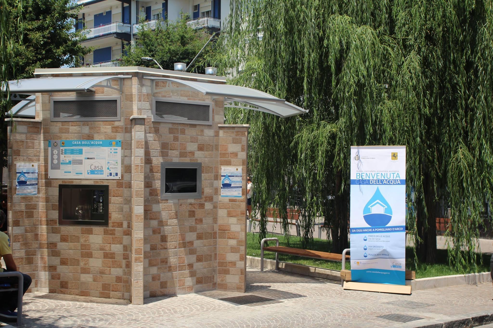 Via Romani Pomigliano D Arco giornata mondiale dell'acqua, erogazione gratuita a