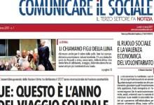 Comunicare il Sociale, torna la versione cartacea del giornale