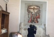 S.Anastasia. Restauro della Congrega, le telecamere del Tg3