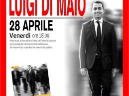 Di Maio sarà il 28 aprile alla Feltrinelli di Pomigliano per la presentazione della sua prima biografia