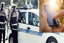 Gli rubano l'Iphone, la polizia municipale lo ritrova e restitusce
