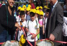 Rotaract Club Nola-Pomigliano d'Arco ha donato cestini per la raccolta differenziata