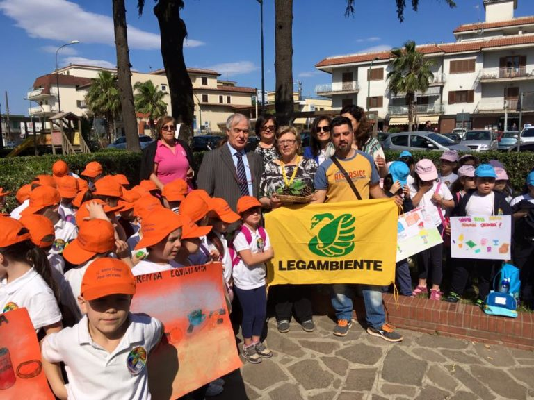 Saviano: a scuola di sensibilizzazione ambientale in villa con Legambiente