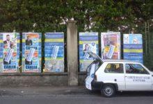 Amministrative a S.Antimo, controlli della municipale sui manifesti elettorali
