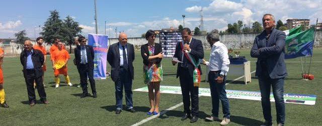 A Casalnuovo il  Torneo della Legalità in memoria di Filippo Raciti, presente la vedova