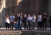 Taglio del nastro per l'Odeion restaurato con Giuliano Volpe, Presidente del Consiglio Superiore dei Beni culturali