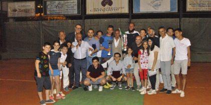 """Tennis ad Ottaviano. Fioravante vince il VII Memorial """"Annunziata, Ciniglio, La Pietra, Salvati"""" FOTO"""