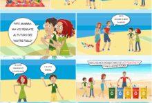 Video e fumetti, la Campagna della Gori per tutelare il mare