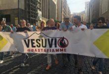 Vesuvio Basta Fiamme: vesuviani in piazza per il Piano di emergenza