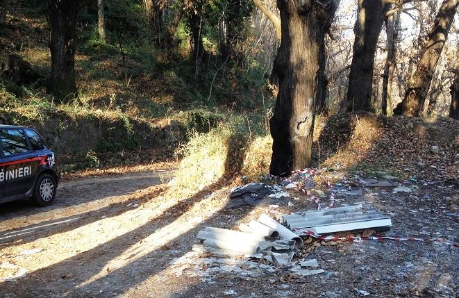 terzigno rifiuti parco vesuvio