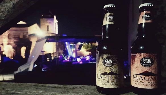 Le birre Vesuvius al concerto presso le Basiliche Paleocristiane di Cimitile