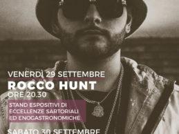 """Casalnuovo. Rocco Hunt in concerto per la terza edizione di """"Calici e Cotone"""""""