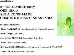 Nuovo circolo Legambiente a S.Anastasia, giovedì conferenza stampa