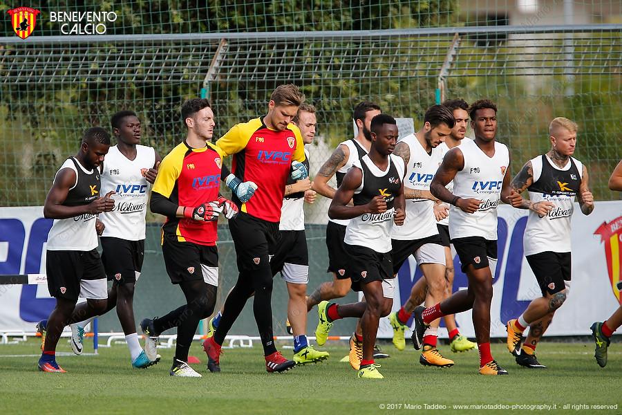 Allenamento Benevento Calcio 2017