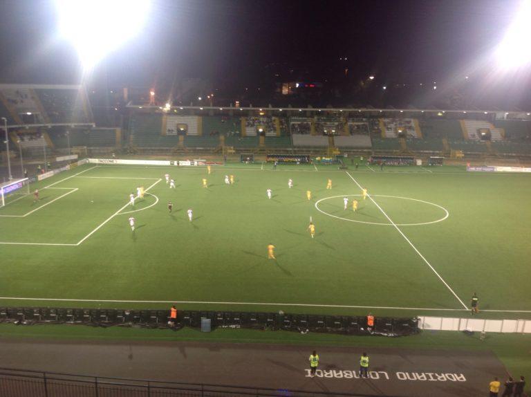 Frosinone – Cittadella, i ciociari subito in vantaggio con Ciofani e Crivello