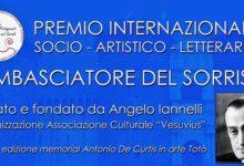 Premio Ambasciatore del Sorriso, al Maschio Angioino la IV edizione