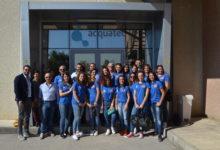 Sport e ambiente, la Vesuvio Oplonti volley in visita alla Acquatec presenta la maglia ufficiale