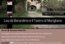 """Giornata evento per ricordare Leo de Berardinis e il """"Teatro di Marigliano"""""""