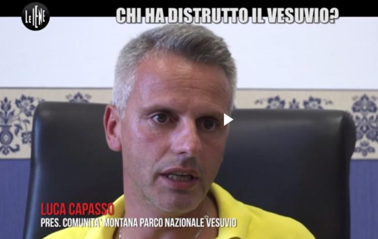 """Ottaviano, il sindaco Capasso su Italia Uno al programma """"Le Iene"""". Ecco perchè"""