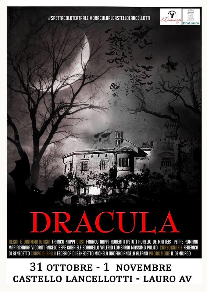 dracula halloween 2017 castello lancellotti lauro