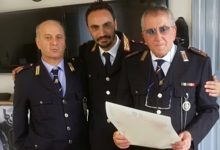 Festa per i 40 anni di carriera del luogotenente Salvatore Angelino
