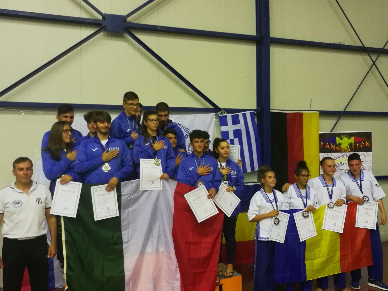 savianese cecilia cristina di laora campionato europeo grecia
