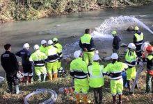 Protezione civile, il gruppo di S.Anastasia sul fiume Sele per le esercitazioni