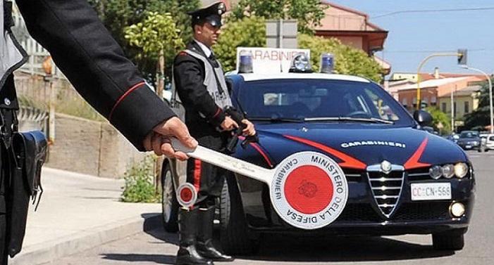 inseguimento - carabinieri