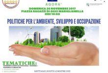Mariglianella, Agorà M5S : Politiche per l'ambiente, sviluppo e occupazione