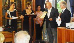 Premiazione concorso letterario Villa Bruno a San Giorgio a Cremano