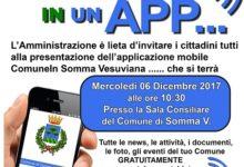 A Somma arriva l'App per avvicinare i cittadini ai servizi del Comune