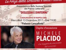 """Il premio letterario di Casalnuovo, """"Una Città che Scrive"""", ospita Michele Placido"""