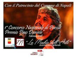 """Concorso nazionale di poesia """"Premio Pino Daniele"""" 2018"""