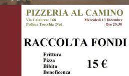 Una pizza per raccogliere fondi per Sos Cristiani d'Oriente