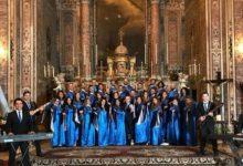 Blue gospel singer il giorno dell'Immacolata al Santuario di Madonna dell'Arco
