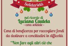 S. Giorgio. Una cena solidale in ricordo di Luciana Cautela e per aiutare le famiglie in difficoltà