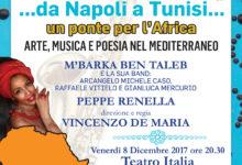 """""""da Napoli a Tunisi…un ponte per l'Africa"""". Arte, musica e poesia nel Mediterraneo"""