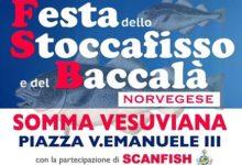 Somma. Festa dello Stoccafisso e del Baccalà, tre giorni tra musica e sapori